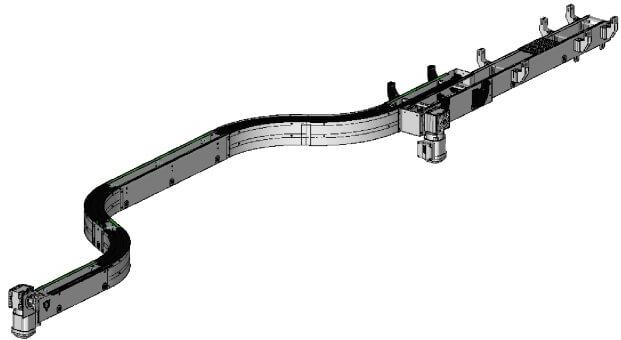 Le bureau d'études MEC conçoit les machines spéciales et la partie convoyages de vos lignes